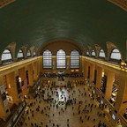 The interior of Grand Central Station