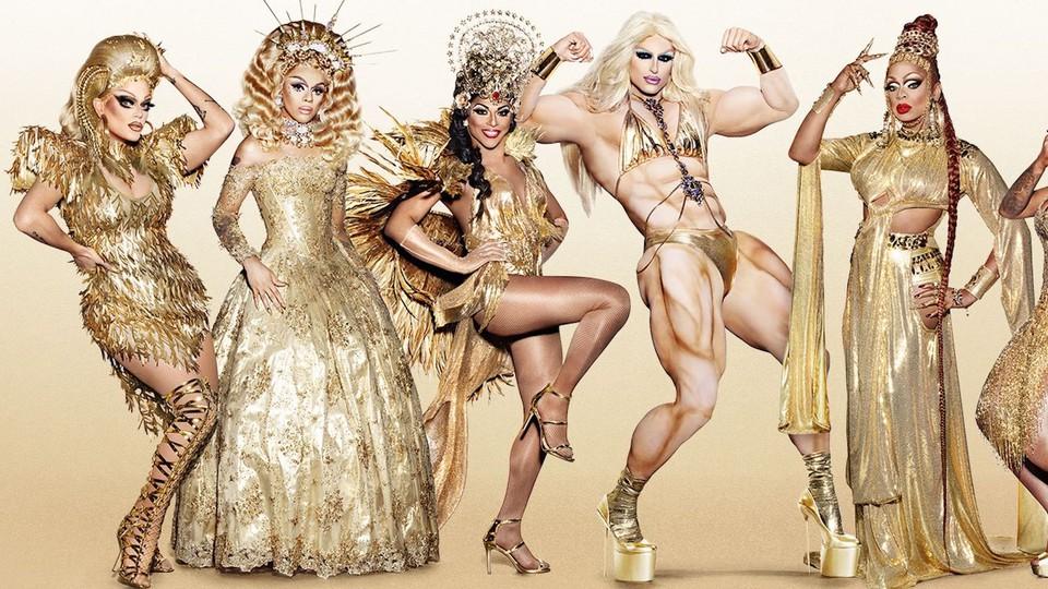 A promo image for 'RuPaul's Drag Race All Stars' Season 3