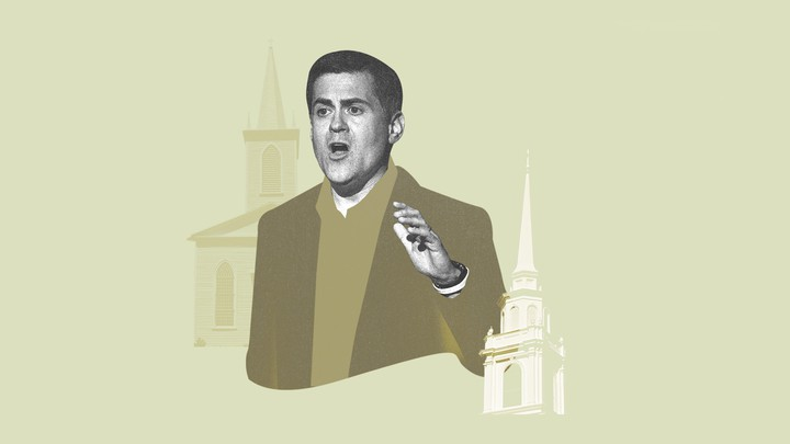 An illustration of Russell Moore