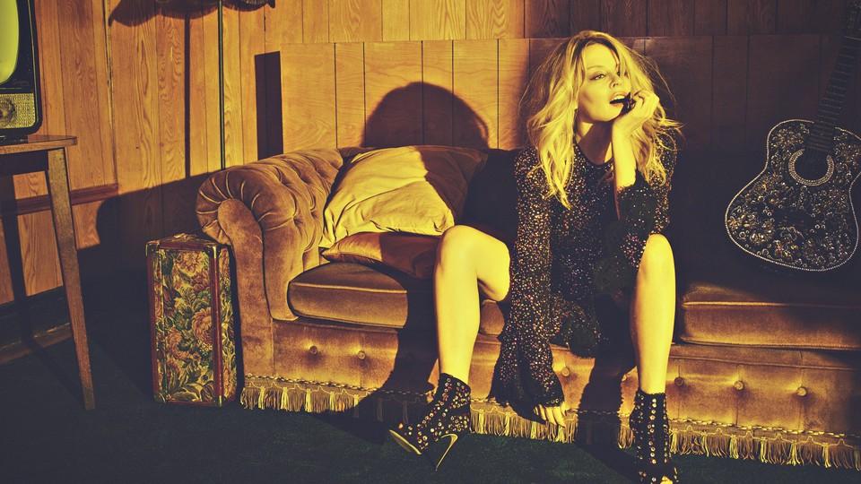 Kylie Minogue promo photo