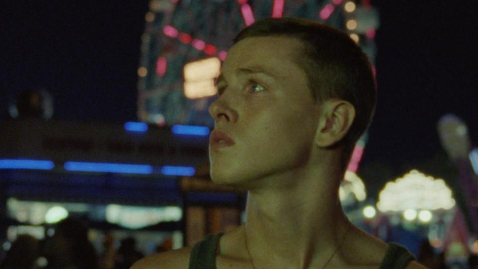 Harris Dickinson as Frankie in 'Beach Rats'