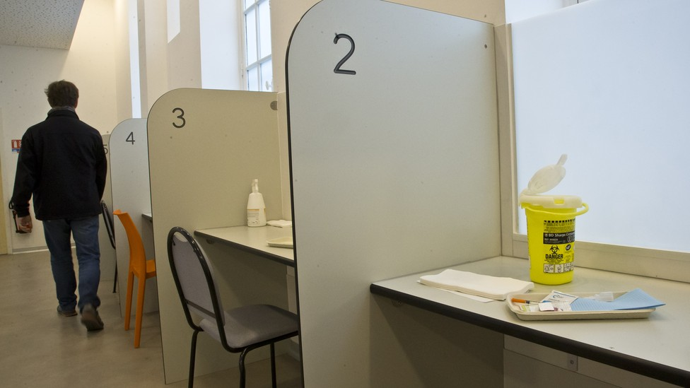 Paris' supervised drug-injection facility