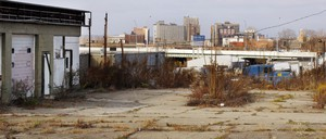 A photo of downtown Youngstown, Ohio
