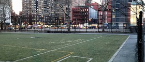 The Marx Brothers Playground on the border of East Harlem and the Upper East Side.