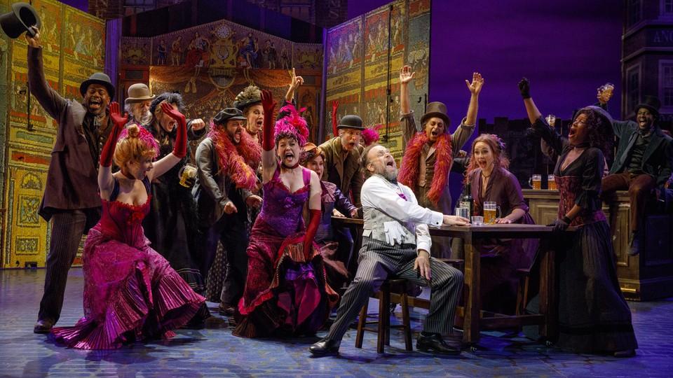 The cast of 'My Fair Lady'