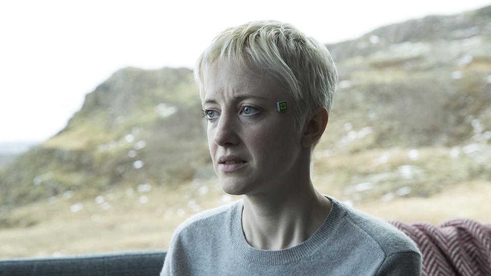 Andrea Riseborough in 'Black Mirror'