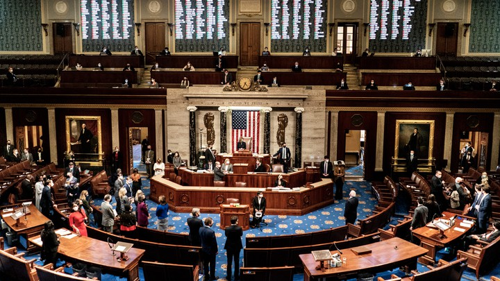 House of Representatives votes to impeach Donald Trump on Jan 13.