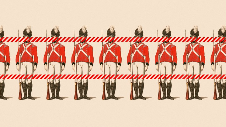 An illustration of soldiers.