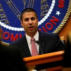 FCC Chairman Ajit Pai is pictured.