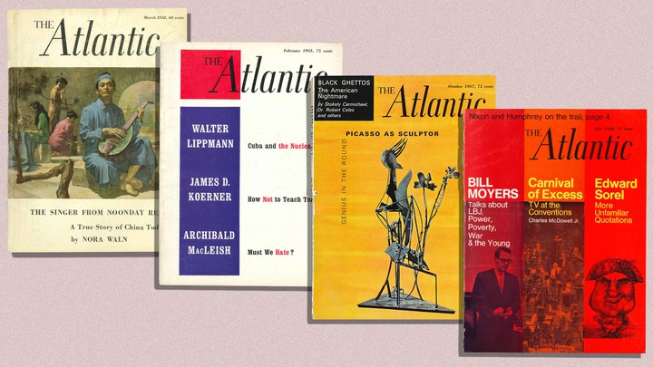 4 images of past Atlantic covers