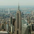 The skyline of New York.