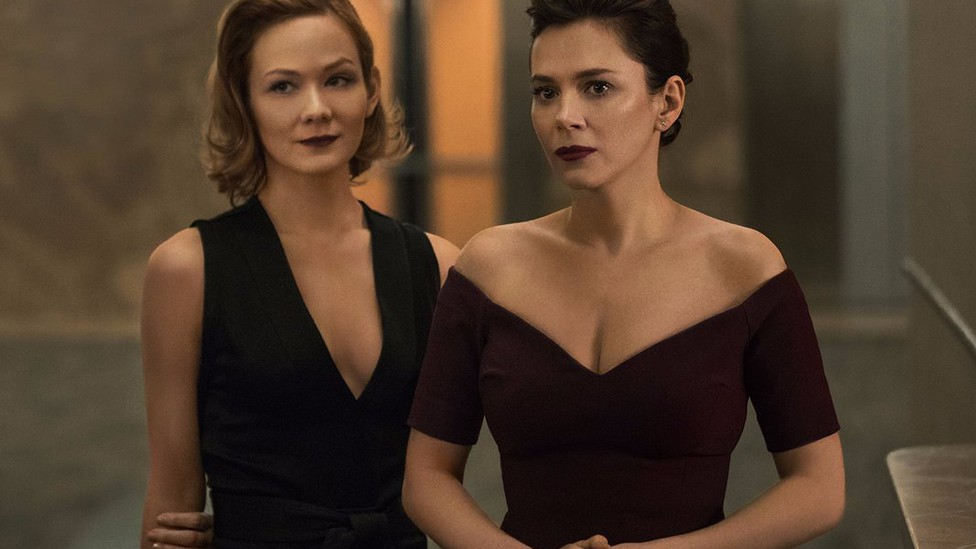 Anna (Louisa Krause) and Erica (Anna Friel) in Starz's 'The Girlfriend Experience'