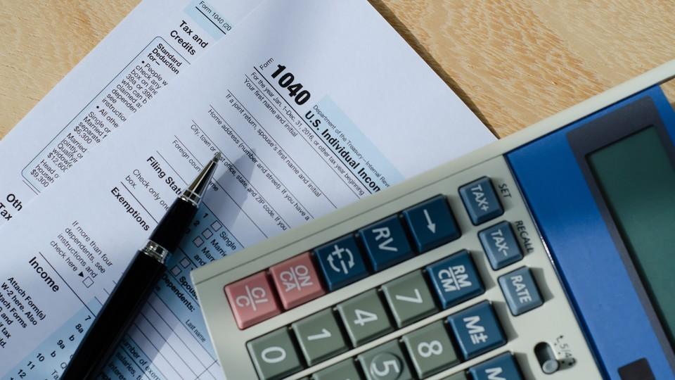 1040 form and calculator for American taxes