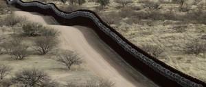 a photo of U.S.-Mexico borderlands