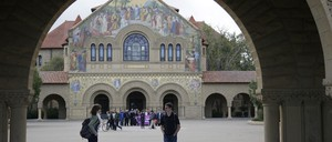 The campus of Stanford University in California