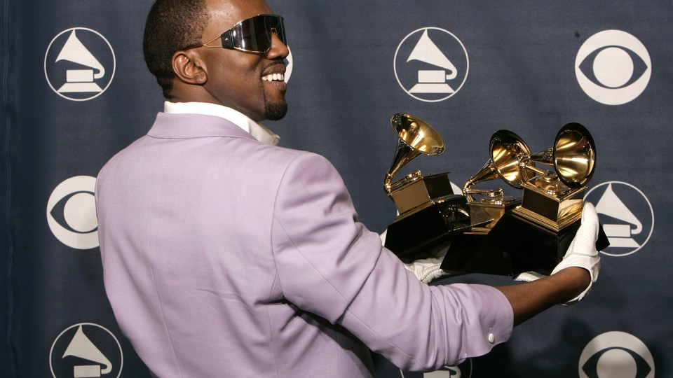 Kanye West at the 2006 Grammys