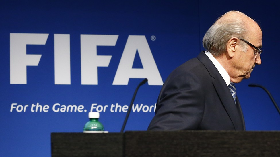 Former FIFA President Joseph Blatter is one of three officials under investigation for violating the international governing body's code of ethics.