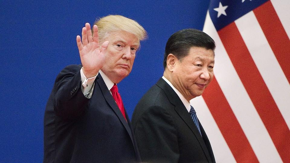Donald Trump and Xi Jinping