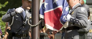 The Confederate battle flag is permanently removed from the South Carolina statehouse grounds.