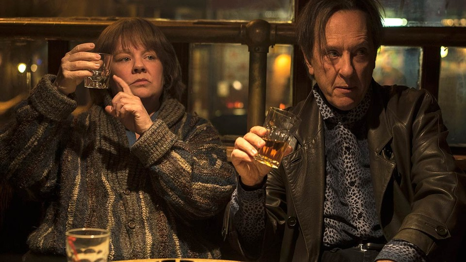 Melissa McCarthy and Richard E. Grant in 'Can You Ever Forgive Me?'