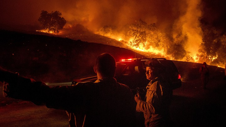 The Kincade Fire has incinerated more than 120 square miles since it began a week ago.