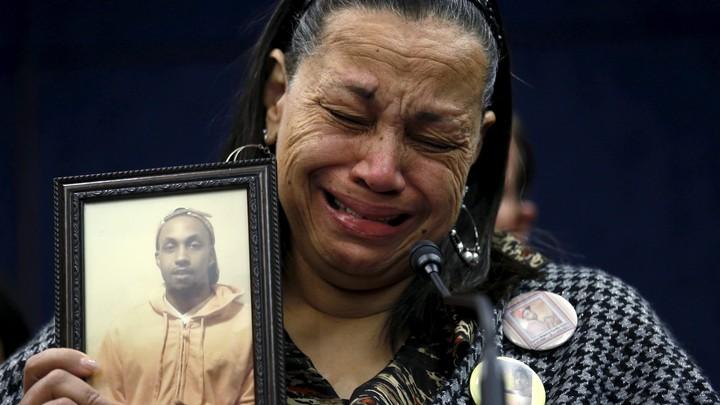 Miyoshia Bailey lost her son to gun violence in Chicago.