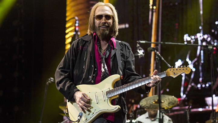 Tom Petty performs at a music festival