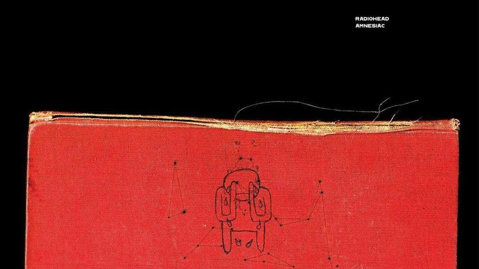 "The album cover of Radiohead's ""Amnesiac"""