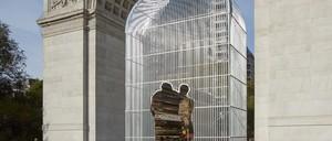 "Ai Weiwei's ""Arch"" at Washington Square in Manhattan."