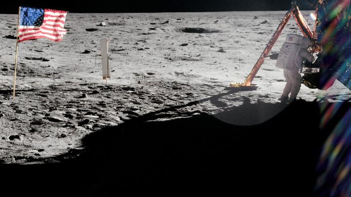The moon's landscape