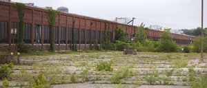 A shuttered factory in Muncie, Indiana