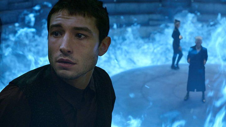 Ezra Miller in 'Fantastic Beasts: The Crimes of Grindelwald'