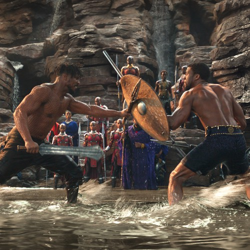 Revisiting Black Panther The Waterfall Fight Scene The Atlantic
