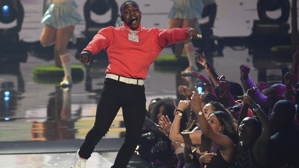 DaBaby performs at the BET Awards in June 2019.