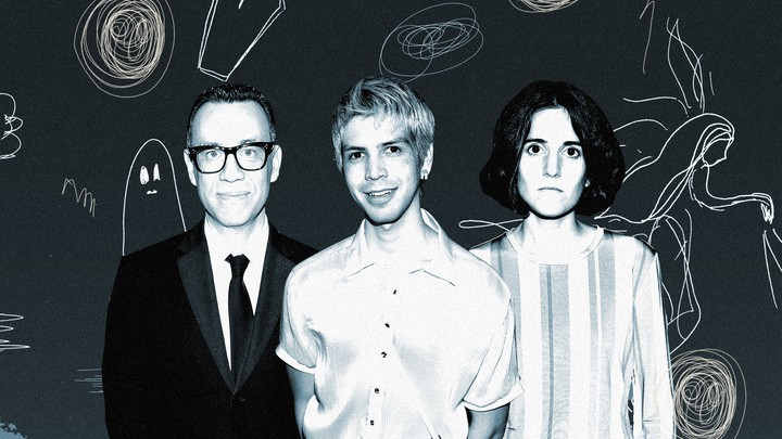 Fred Armisen, Julio Torres, and Ana Fabrega, creators of HBO's 'Los Espookys'