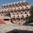 The Pragati Maidan building in India