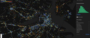 a map of Boston's racial diversity