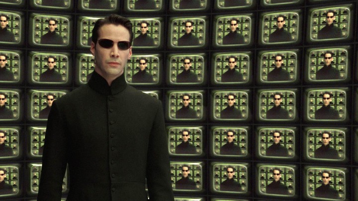Keanu Reeves in 'The Matrix Reloaded'