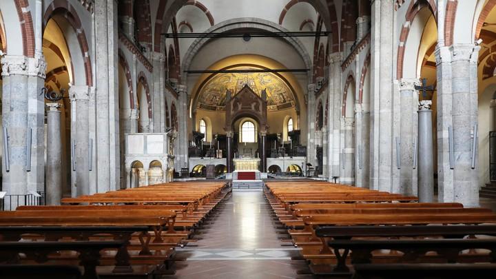 The church of SantAmbrogio