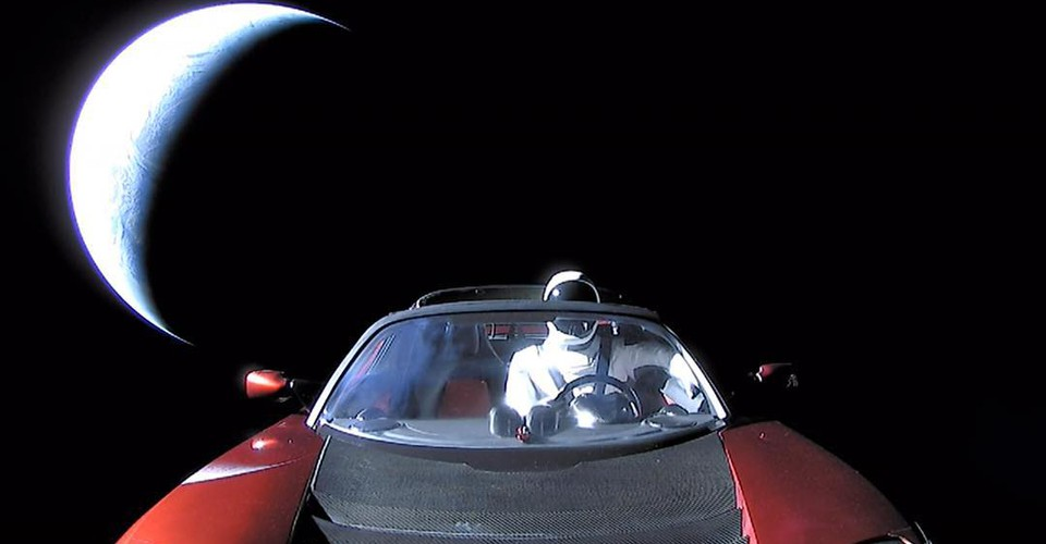 Where Is Elon Musk's Space Tesla Actually Going?