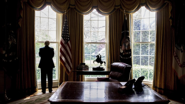 President Donald Trump is clinging to power in the final days of his tenure.
