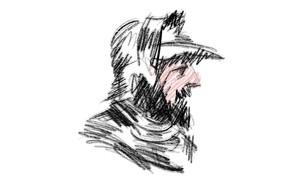 illustration of Alaric the Goth