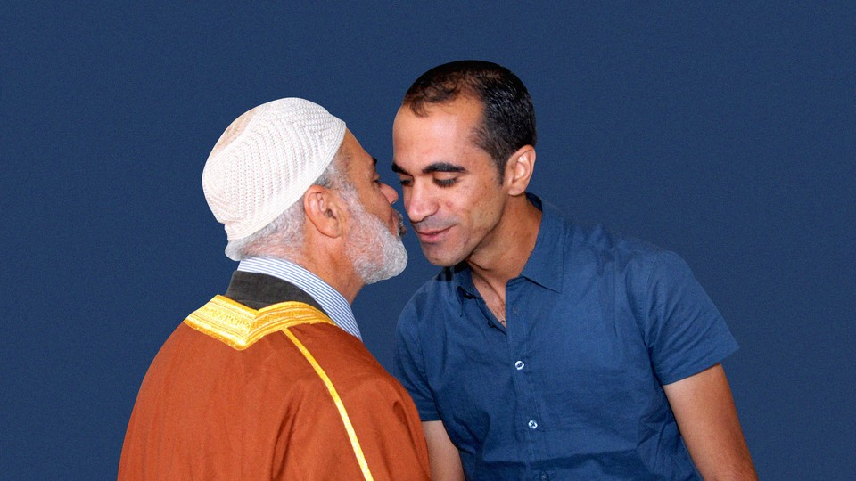 Seraj Assi and his father