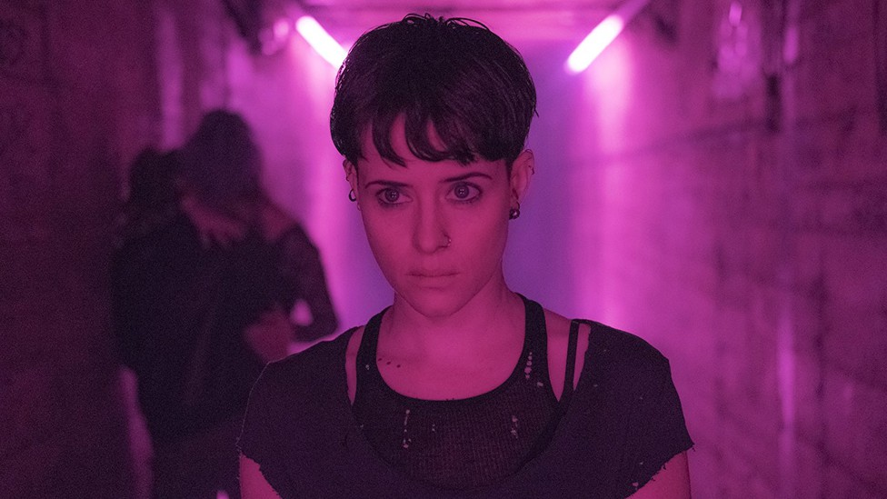 Claire Foy in 'The Girl in the Spider's Web'