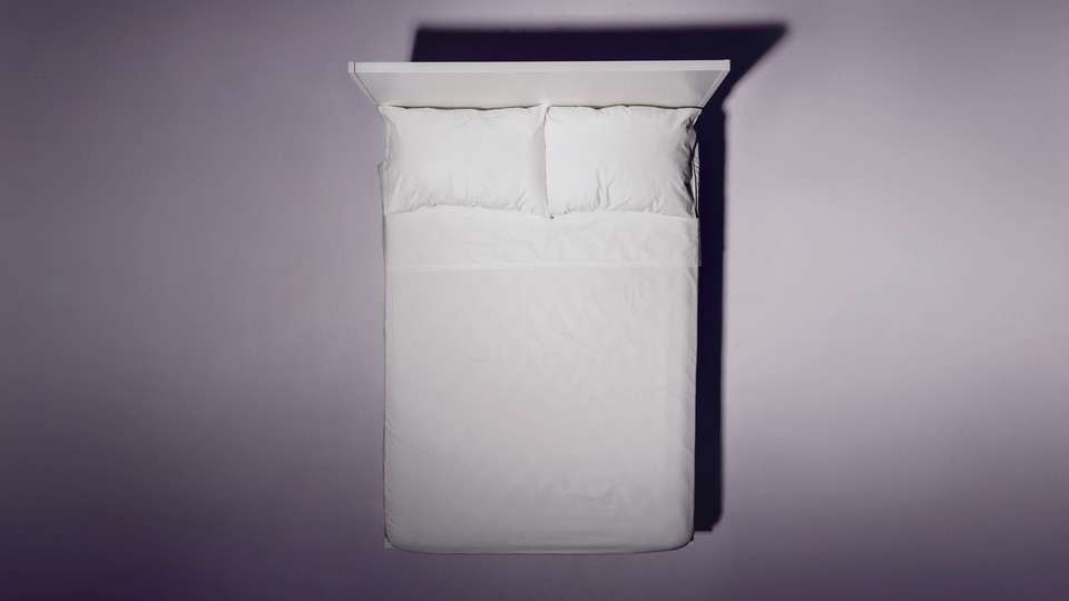 An image of a bed