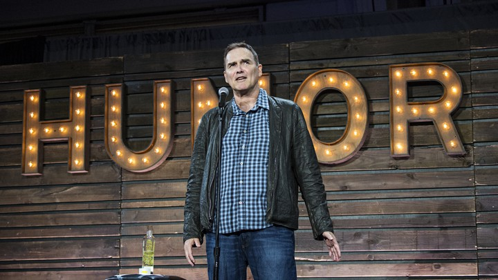 Norm Macdonald performing in 2017.