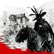 Masked horsemen riding into town
