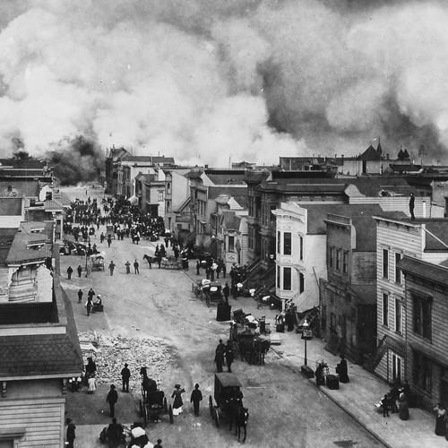 Photograph of a San Francisco Fire /& Earthquake Burn Victim  Year 1906   8x10