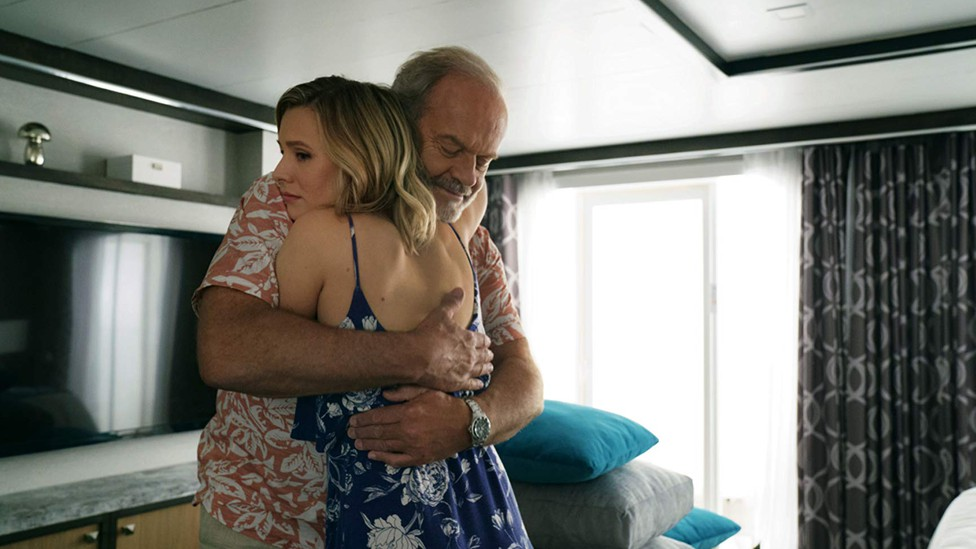 Kristen Bell and Kelsey Grammer in Netflix's 'Like Father'
