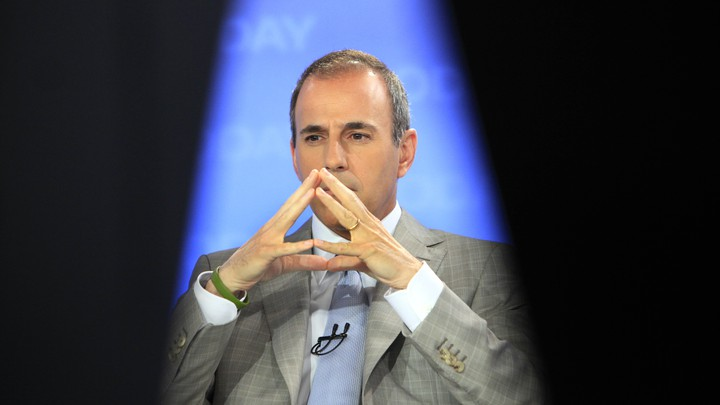 A photo of Matt Lauer